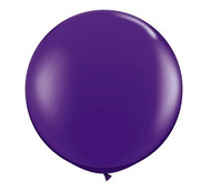 "Qualatex 36"" Purple Latex Balloon"