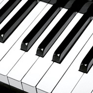 Piano Paper Cocktail Napkin