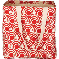 Mimi Red Laundry Hamper