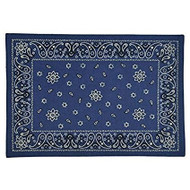 Blue Bandana Print Placemat - Set of 4