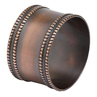 Antique Copper Napkin Rings - Set of 4