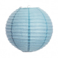 "Baby Blue 14"" Paper Lanterns - Set of 2"