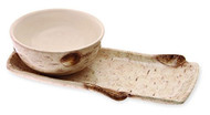 Birch Tray and Bowl Set