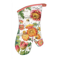 Michel Design Works Blooms and Bees Oven Mitt