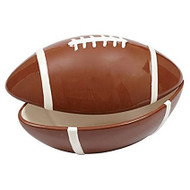 DII Large Football Ceramic Bowl with Lid