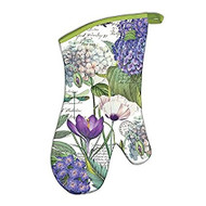 Michel Design Works Hydrangea Oven Mitt