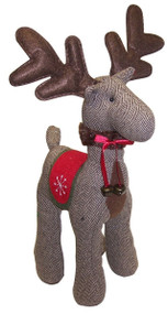 Brown Tweed Reindeer