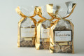 1 lb. Dark Chocolate Toffee - Gold Bag