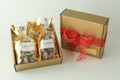 2 lb. Gift Box - Milk Chocolate & Dark Chocolate Toffee