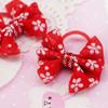 Flower bow hairband