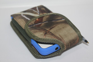 camoflague Nylon Pouch holster with beltloop For LG G3