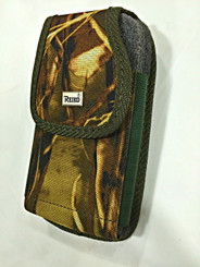 """Camo Nylon Pouch holster with belt loop Extra Big Fit Apple Iphone 6 & 6s 4.7"""" with otterbox Defender case On"""