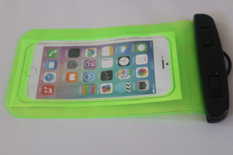Green Clear Universal Swimming Waterproof Case Dry Bag for Apple iPhone 5 5s SE 6S 6,6S Plus