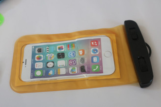 Orange Clear Universal Swimming Waterproof Case Dry Bag for Apple iPhone 5 5s SE 6S 6,6S Plus