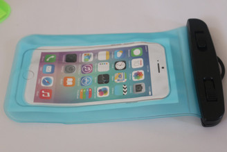 Blue Clear Universal Swimming Waterproof Case Dry Bag for Apple iPhone 5 5s SE 6S 6,6S Plus