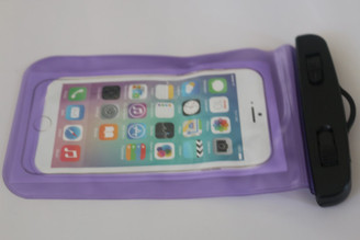 Purple Clear Universal Swimming Waterproof Case Dry Bag for Apple iPhone 5 5s SE 6S 6,6S Plus