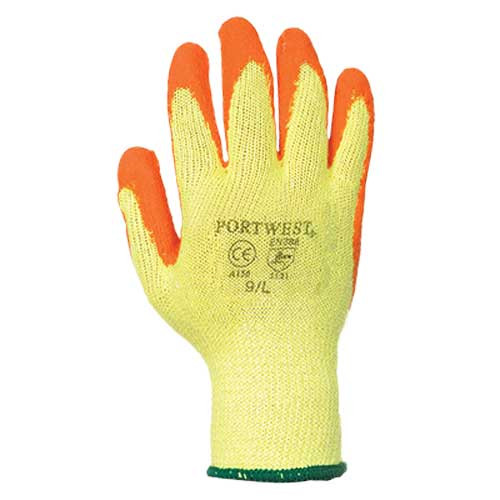 Portwest Fortis Latex Palm Grip Gloves