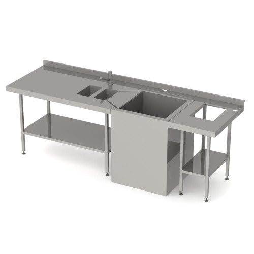 Stainless Steel Stripping Sink Unit