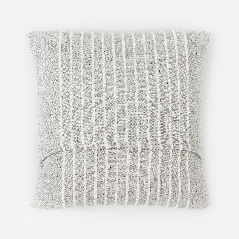 Ardo Thin Striped Wool Pillow