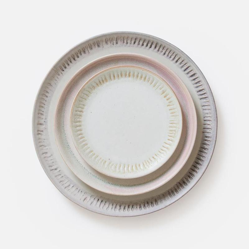 Sunrise and Ridges Ceramic Plates