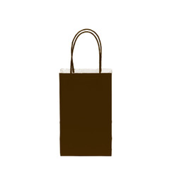 12CT SOLID CHOCOLATE KRAFT BAG