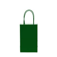 12CT SOLID EVERGREEN KRAFT BAG