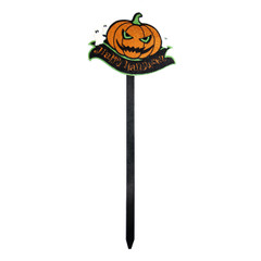 Pumpkin yard stake