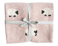 Baa Baa Blanket - Pink 100cm x 70cm