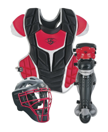 Team Louisville Slugger Series 5 Fastpitch 3-Piece Catcher's Set Intermediate