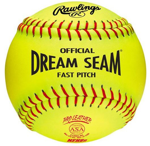"DREAM SEAM® ASA® NFHS 12"" SOFTBALL (DOZEN)"