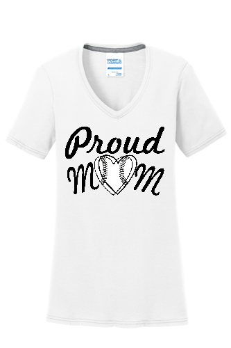 Proud Mom V-Neck