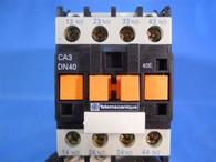 Telemecanique (CA3DN40BD) 4 Pole 24 VDC Control Relay, New Surplus
