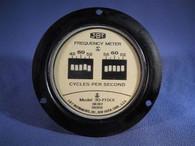 JBT Instruments (30-FHXX) Reed Type Frequency Meter, New Surplus in Original Box