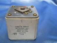 Carbone Ferraz (A070FB575FB) 700V.AC 575A., Used