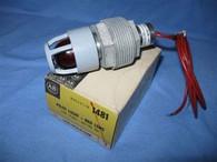 Allen Bradley (1481-N56A120R) Pilot Light, New Surplus