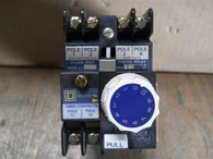 Square D (8501-LO-00-LT) AC Relay Operated Timer, New Surplus