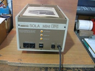 SOLA Mini UPS Unit (26-00-50750-3000) New surplus unit w/ manual, no box