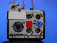 Siemens Allis (OLR2500CS2) 16-25 Amp Overload Relay, New Surplus