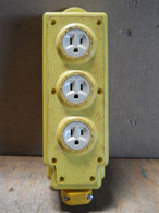 Rhimco Mil Spec (MT90356) Cord Mount 3 Outlet Power Strip Assembly
