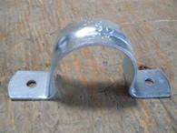 """Minerallac (HD280) 1-1/2"""" Rigid 2 Hole Pipe Strap, Box of 50, New Surplus"""