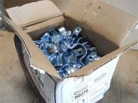 """Minerallac (HD270) 1-1/4"""" Rigid 2 Hole Pipe Strap, Box of 100, New Surplus"""