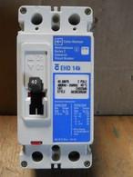Cutler Hammer Westinghouse (EHD2040) 2 Pole 40 Amp Circuit Breaker, New Surplus