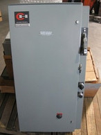 Cutler Hammer Pump Panel w/ Nema sz 1 Starter (A10C-1) w/ Breaker, New Surplus