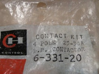 Cutler Hammer Contact Kit (6-331-20) New Surplus