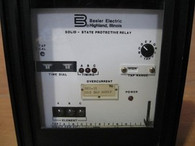 Basler Electric Solid State Protective Relay (BE1-51) G1E-B40AON1F, USED