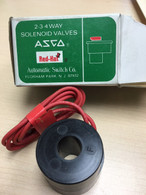 ASCO 64-982-2-D Solenoid Valve Coil, 240/60, 220/50FB, New in box
