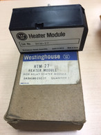 Westinghouse (HTM-27) MOR Relay Heating Module, 229P151H01A, New in box
