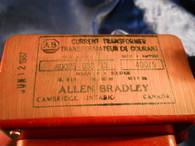 Allen Bradley (80025-033-13) Current Transformer, Ratio 400/5, 50/60, Used