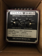 BBC Brown Boveri Ground Fault Relay (202K8161UL) 120 V.ac  NEW
