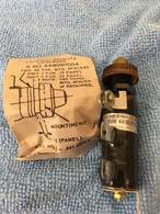 Westinghouse EZC Minalite Amber 125V 449D187G83, with hardware, New
